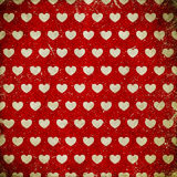 Grunge background with hearts Royalty Free Stock Photography