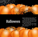 Grunge background for holiday Halloween Royalty Free Stock Images
