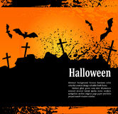 Grunge background for holiday Heluin, with crosses Royalty Free Stock Image