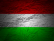 Grunge background Hungary flag Royalty Free Stock Image