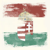 Grunge background Hungary Royalty Free Stock Photo
