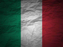 Grunge background Italy flag Royalty Free Stock Photos