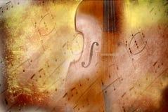 Grunge Background Music, Bass And Score Royalty Free Stock Image