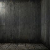 Grunge Background Of Concrete Room Royalty Free Stock Image