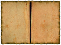 Grunge background - old book Royalty Free Stock Images