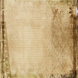 Grunge  background with old filmstrip. Vintage shabby background  with the space for text or photo Stock Photos