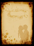 Grunge background, old paper. Pattern Royalty Free Stock Photography