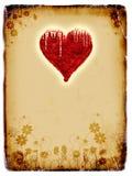 Grunge background, old paper, pattern. Illustration Stock Image