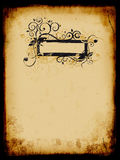Grunge background, old paper, pattern. Illustration Royalty Free Stock Images