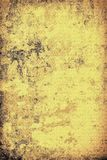The texture of old yellow paper. Abstract grunge background. Grunge background of old paper for printing on labels, posters, business cards and creating your own Royalty Free Stock Photos