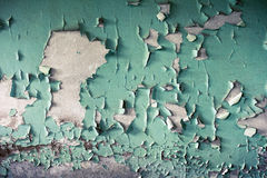 A Grunge Background with Old Peeling Paint Stock Photo