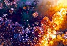 Grunge background, orange and violet color. Color abstract background. Grunge background, orange and violet color. Color abstract background Royalty Free Stock Image