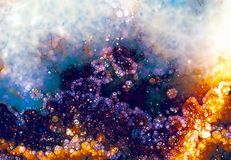 Grunge background, orange and violet color. Color abstract background. Grunge background, orange and violet color. Color abstract background Royalty Free Stock Photography