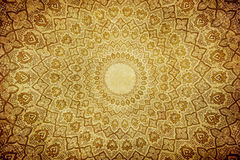 Grunge background with oriental ornaments Royalty Free Stock Image