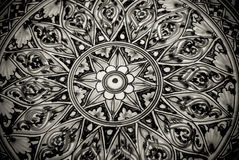 Grunge background with oriental ornaments Royalty Free Stock Photography