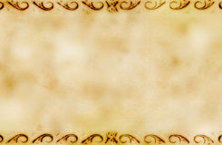 Grunge background with ornaments Royalty Free Stock Image