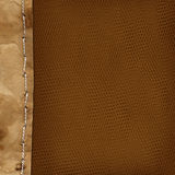 Grunge background with paper border for design Stock Photo
