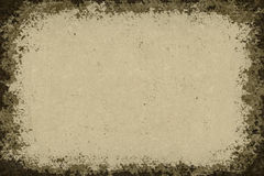 Grunge background paper frame Royalty Free Stock Images