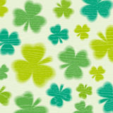 Grunge  background for Patricks day with shamrock Royalty Free Stock Photo