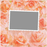 Grunge background for photo frame or other design Royalty Free Stock Photos