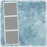 Grunge background for photo frame or other design Stock Photo
