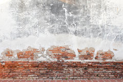 Grunge background, red brick wall texture Royalty Free Stock Photography