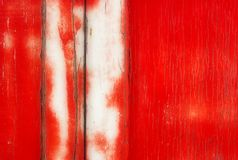 Grunge Background: Red Paint Stock Image
