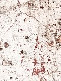 Grunge background with red paint splash. Great grunge texture looks like blood. Grunge texture with color splash paint on the wall. Useful as grunge backdrop royalty free stock photo