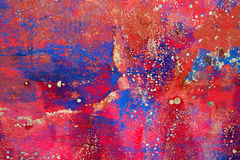Grunge background in red and rusty colorful Royalty Free Stock Photos