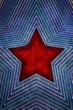 Grunge background with red star. Grunge style background with red star on center vector illustration