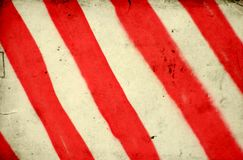 Grunge background with red and white stripe pattern royalty free stock photo