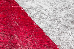 Grunge background of red and white stripes Stock Images