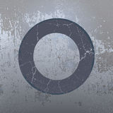 Grunge background with ring Royalty Free Stock Photos