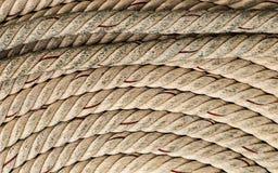 Grunge background rope twisted pattern light Stock Image