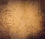 Grunge background with rose Royalty Free Stock Photo