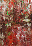 Grunge background - rusty colorful texture Royalty Free Stock Images