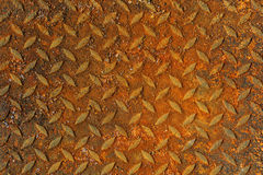 Grunge background of rusty metal plate Stock Photo