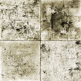 Grunge Background Set. Set of 4 Scratched Grunge Backgrounds Royalty Free Stock Photo