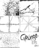 Grunge background set Stock Photography