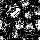 Grunge_background_skull_8 库存照片