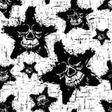 Grunge_background_skull_6 库存图片