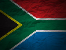 Grunge background South Africa flag Royalty Free Stock Photo