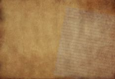 Grunge background with space. Vintage paper with space for text or image Royalty Free Stock Photography