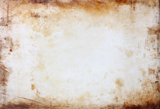 Grunge background with stained frame. Royalty Free Stock Photo