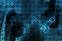 Grunge background technology stock illustration