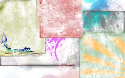 Grunge background textile Royalty Free Stock Photos