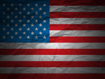 Grunge background USA flag Royalty Free Stock Photos