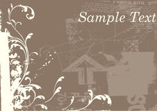 Grunge background vector Royalty Free Stock Images