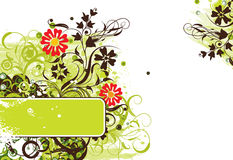 Grunge background, vector Stock Image
