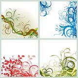 Grunge background, vector Stock Photography